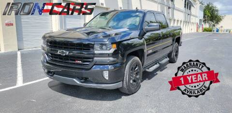 2017 Chevrolet Silverado 1500 for sale at IRON CARS in Hollywood FL