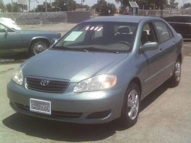 2006 Toyota Corolla for sale at Valley Auto Sales & Advanced Equipment in Stockton CA