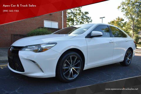 2017 Toyota Camry for sale at Apex Car & Truck Sales in Apex NC
