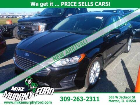 2019 Ford Fusion Hybrid for sale at Mike Murphy Ford in Morton IL