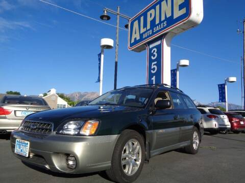 2003 Subaru Outback for sale at Alpine Auto Sales in Salt Lake City UT