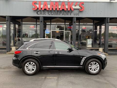 2016 Infiniti QX70 for sale at Siamak's Car Company llc in Salem OR