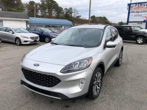 2020 Ford Escape for sale at U FIRST AUTO SALES LLC in East Wareham MA