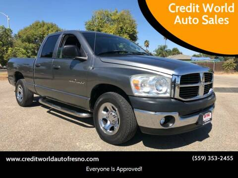 2007 Dodge Ram Pickup 1500 for sale at Credit World Auto Sales in Fresno CA