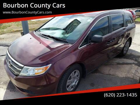 2013 Honda Odyssey for sale at Bourbon County Cars in Fort Scott KS