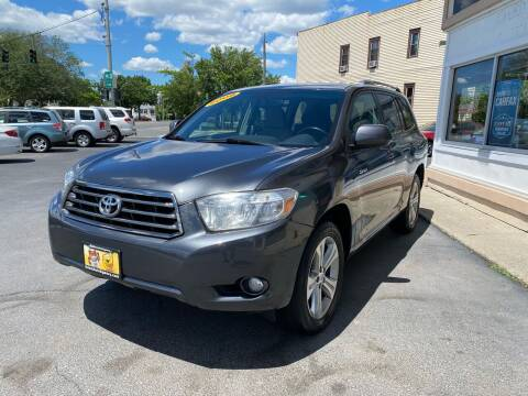 2008 Toyota Highlander for sale at ADAM AUTO AGENCY in Rensselaer NY
