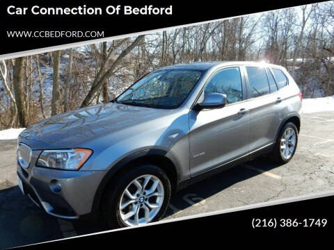2012 BMW X3 for sale at Car Connection of Bedford in Bedford OH