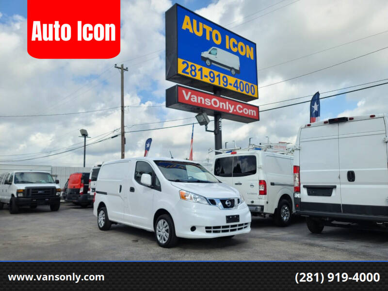 2019 Nissan NV200 for sale at Auto Icon in Houston TX