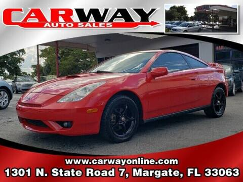 2003 Toyota Celica for sale at CARWAY Auto Sales in Margate FL