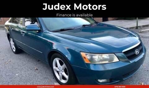 2007 Hyundai Sonata for sale at Judex Motors in Loganville GA