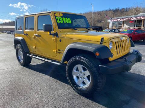 2015 Jeep Wrangler Unlimited for sale at Elk Avenue Auto Brokers in Elizabethton TN