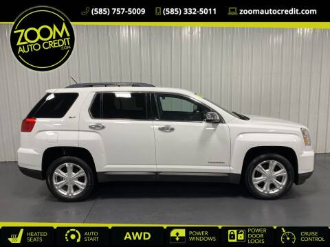 2017 GMC Terrain for sale at ZoomAutoCredit.com in Elba NY