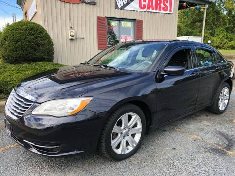 2012 Chrysler 200 for sale at Mehan's Auto Center in Mechanicville NY