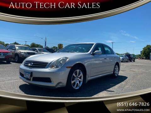 2006 Infiniti G35 for sale at Auto Tech Car Sales in Saint Paul MN