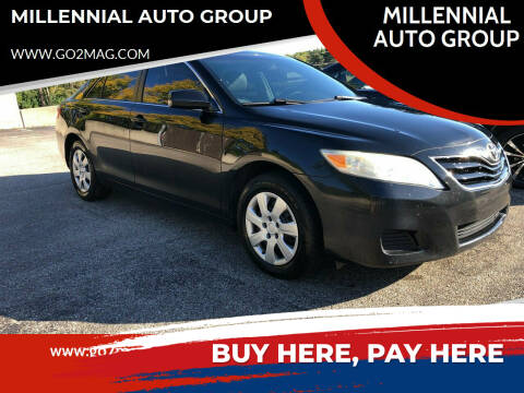 2010 Toyota Camry for sale at MILLENNIAL AUTO GROUP in Farmington Hills MI