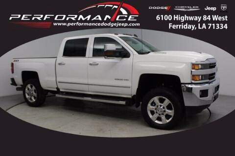 2018 Chevrolet Silverado 2500HD for sale at Performance Dodge Chrysler Jeep in Ferriday LA
