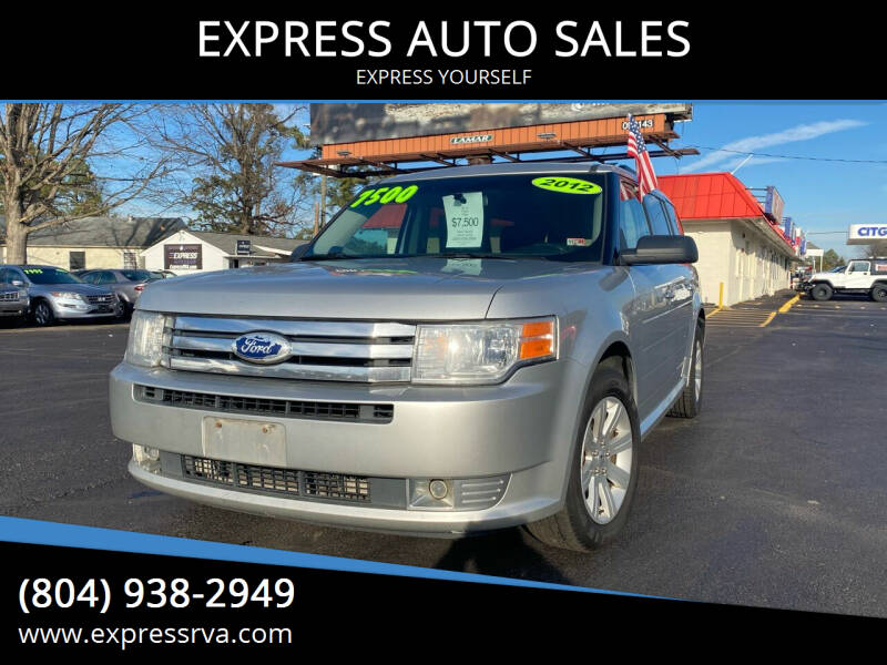 2012 Ford Flex for sale at EXPRESS AUTO SALES in Midlothian VA