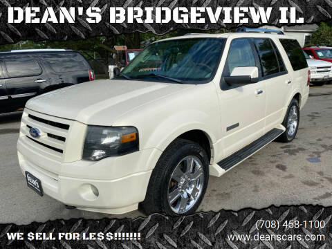 2007 Ford Expedition for sale at DEANSCARS.COM in Bridgeview IL