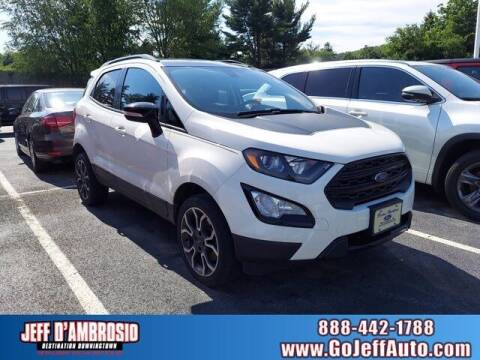 2019 Ford EcoSport for sale at Jeff D'Ambrosio Auto Group in Downingtown PA