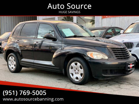 2008 Chrysler PT Cruiser for sale at Auto Source in Banning CA