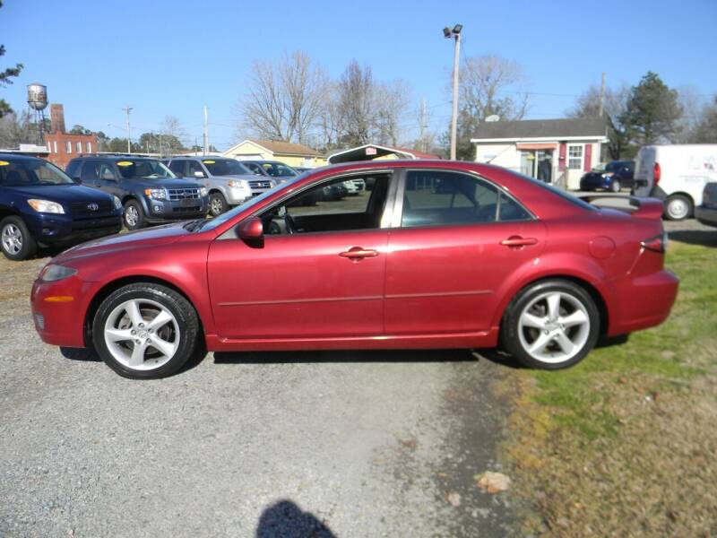 2007 Mazda MAZDA6 for sale at SeaCrest Sales, LLC in Elizabeth City NC