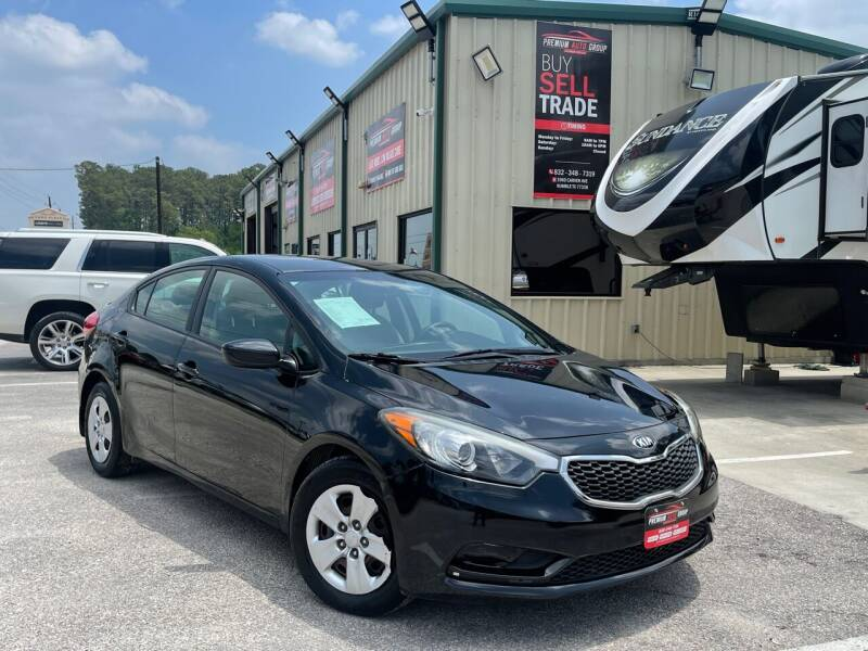 2016 Kia Forte for sale at Premium Auto Group in Humble TX
