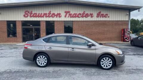 2015 Nissan Sentra for sale at STAUNTON TRACTOR INC in Staunton VA