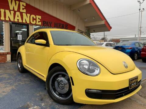 2012 Volkswagen Beetle for sale at Caspian Auto Sales in Oklahoma City OK