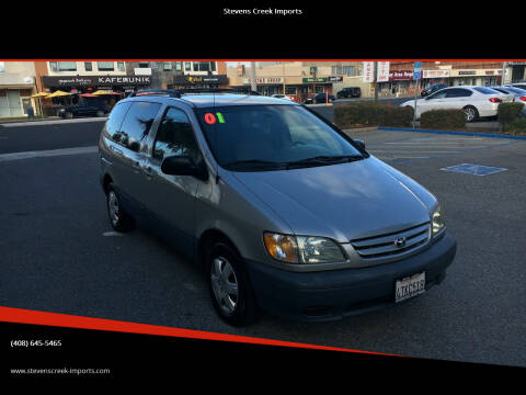 2001 Toyota Sienna for sale at Stevens Creek Imports in San Jose CA