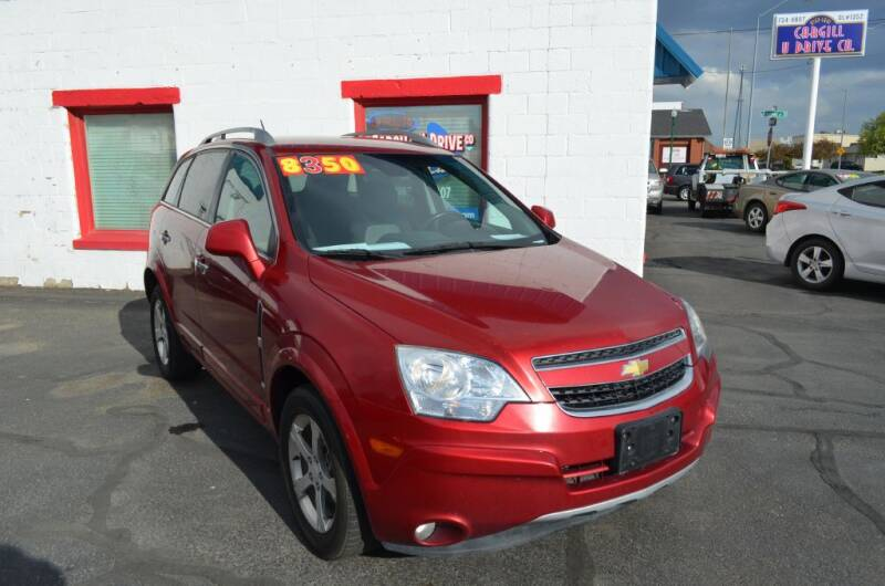 2012 Chevrolet Captiva Sport for sale at CARGILL U DRIVE USED CARS in Twin Falls ID