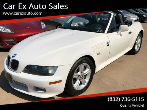 2001 BMW Z3 for sale at Car Ex Auto Sales in Houston TX