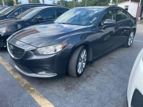 2015 Mazda MAZDA6 for sale at America Auto Wholesale Inc in Miami FL