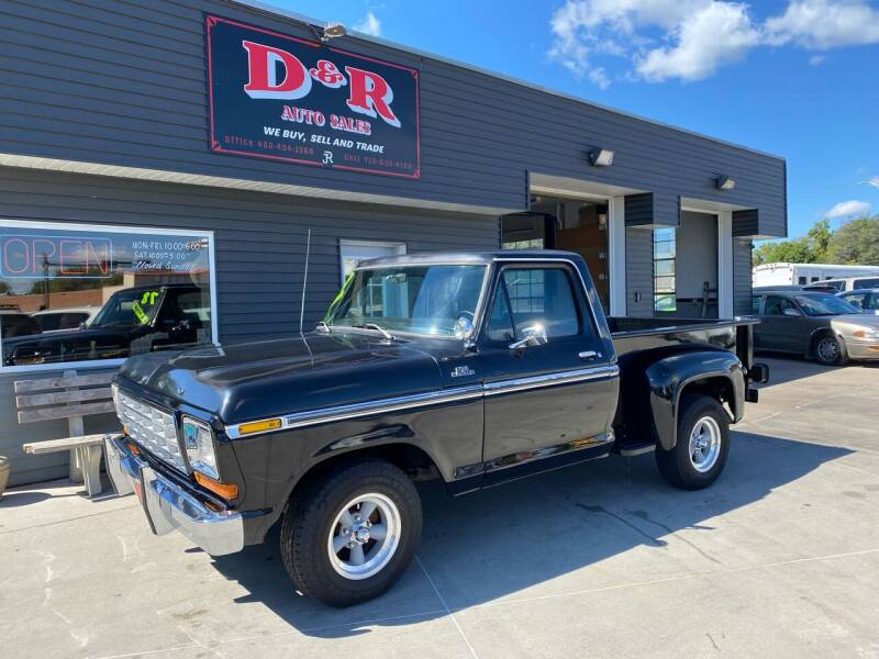 1978 Ford F-100 for sale at D & R Auto Sales in South Sioux City NE