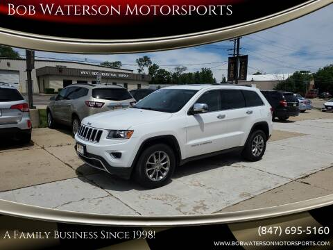 2014 Jeep Grand Cherokee for sale at Bob Waterson Motorsports in South Elgin IL