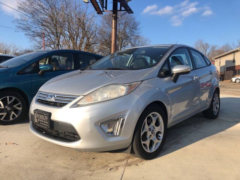 2012 Ford Fiesta for sale at Wolff Auto Sales in Clarksville TN