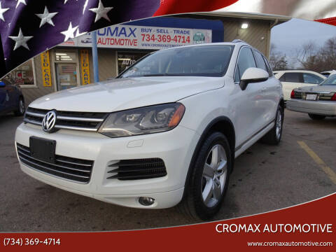 2012 Volkswagen Touareg for sale at Cromax Automotive in Ann Arbor MI