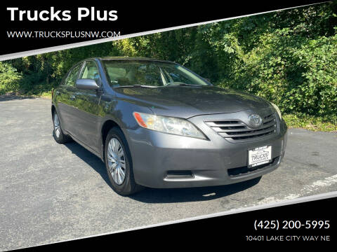 2007 Toyota Camry for sale at Trucks Plus in Seattle WA