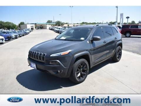 2016 Jeep Cherokee for sale at South Plains Autoplex by RANDY BUCHANAN in Lubbock TX