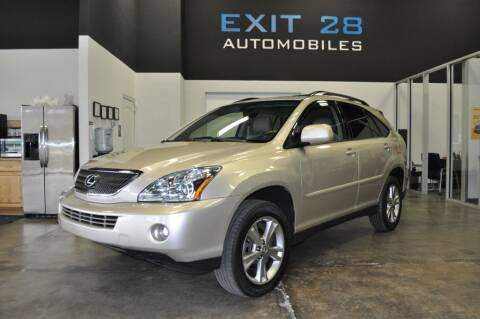 2006 Lexus RX 400h for sale at Exit 28 Auto Center LLC in Cornelius NC