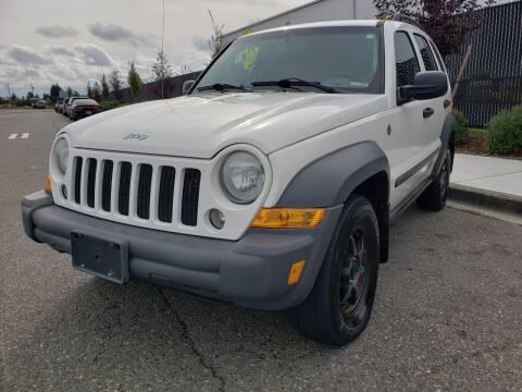 2007 Jeep Liberty for sale at Washington Auto Sales in Tacoma WA