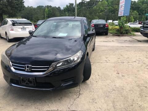 2013 Honda Accord for sale at Moore's Motors in Durham NC