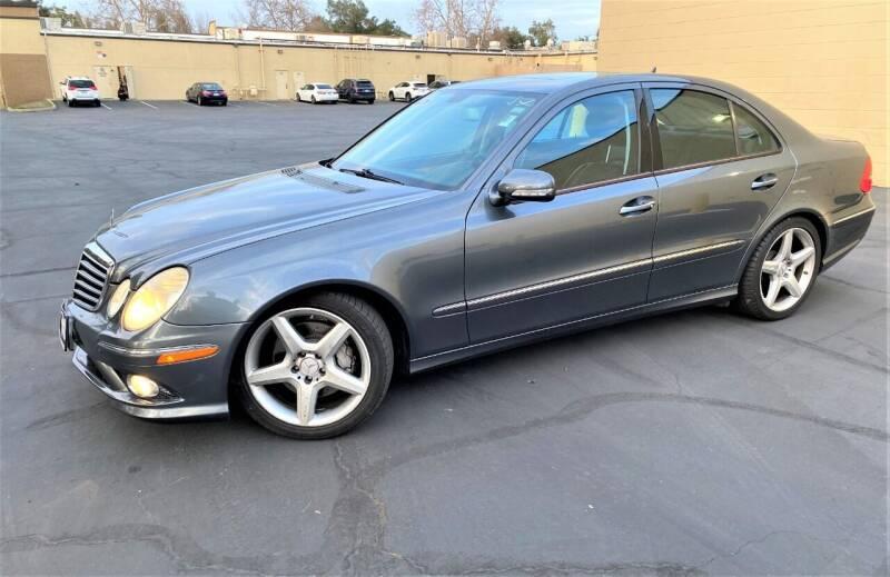 2009 Mercedes-Benz E-Class for sale at TOP QUALITY AUTO in Rancho Cordova CA