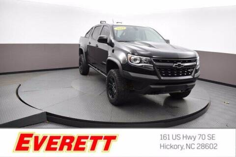 2019 Chevrolet Colorado for sale at Everett Chevrolet Buick GMC in Hickory NC