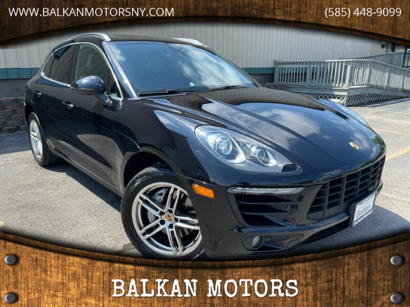 2015 Porsche Macan for sale at BALKAN MOTORS in East Rochester NY