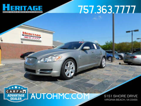2011 Jaguar XF for sale at Heritage Motor Company in Virginia Beach VA