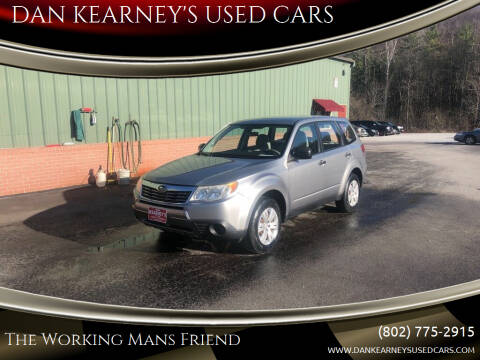 2009 Subaru Forester for sale at DAN KEARNEY'S USED CARS in Center Rutland VT