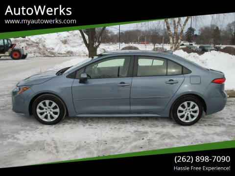 2020 Toyota Corolla for sale at AutoWerks in Sturtevant WI