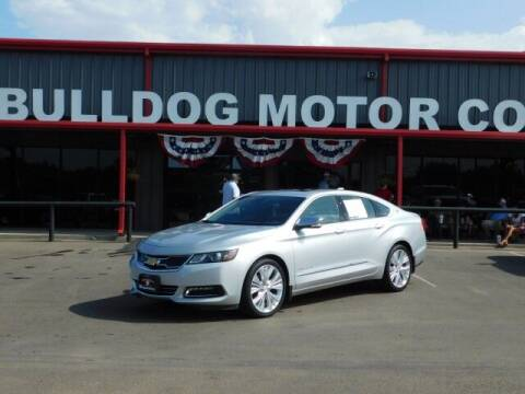 2020 Chevrolet Impala for sale at Bulldog Motor Company in Borger TX