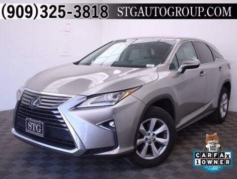 2017 Lexus RX 350 for sale at STG Auto Group in Montclair CA