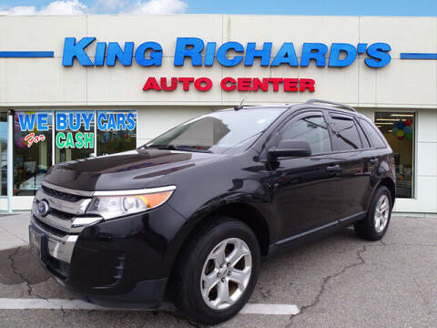2013 Ford Edge for sale at KING RICHARDS AUTO CENTER in East Providence RI
